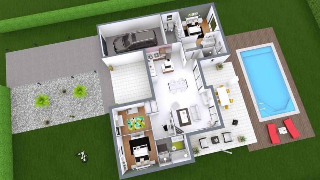 Plan maison individuelle Harmonie