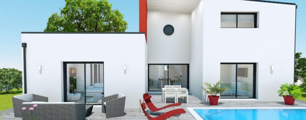 Construction maison moderne Orange - Auniscéanes